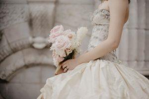 beaded-detail-on-wedding-dress